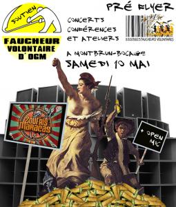 Soutien Faucheurs Volontaires - Animations, Conférence, Concert ZOUFRIS MARACAS