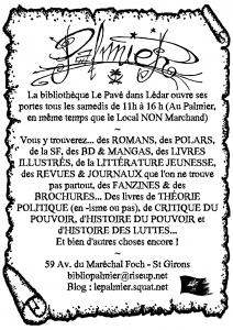 Trakt Biblio Palmier Le Pavé dans Lédar - Version 000