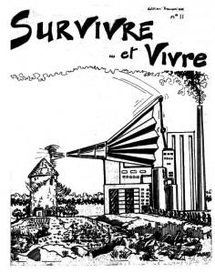 Survivre et Vivre 11